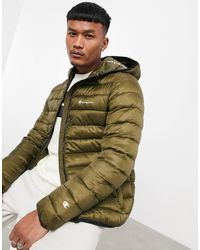 Champion Padded Jacket With Hood - Green