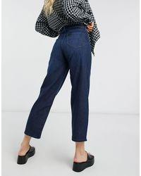 Lee Jeans High Rise Wide Leg Clean Jeans - Blue