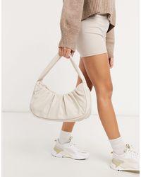 ASOS Slouchy Shoulder Bag - White