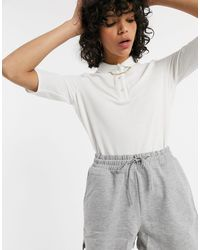 Lacoste Pleated Blouse - White