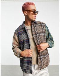 RIPNDIP Ripndip - roygbiv - veste à carreaux écossais - Multicolore