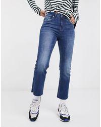ONLY – Gerade geschnittene Jeans - Blau