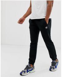 adidas Originals Черные Джоггеры С Логотипом Essentials-черный