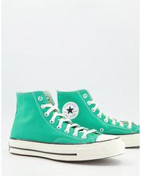 Converse - Зеленые Высокие Кроссовки Chuck 70-зеленый Цвет - Lyst