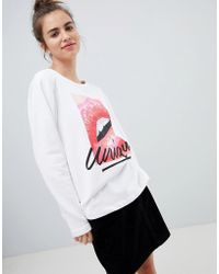 Blend She - Tyron Unique Print Sweater - Lyst