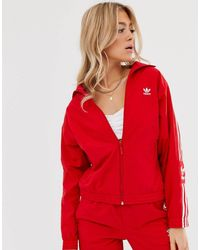 adidas Originals Locked Up - Veste - Rouge