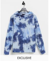 New Girl Order Exclusive Oversized Co-ord Hoodie - Blue