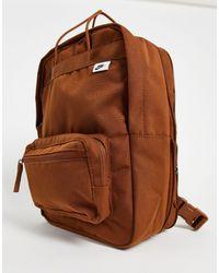 Nike Коричневый Прямоугольный Рюкзак Tanjun-коричневый Цвет