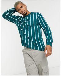 Mennace Long Sleeve Logo T-shirt - Blue