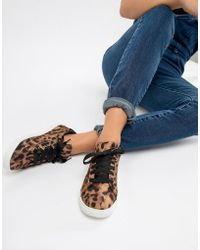 Oasis - Trainers In Animal Print - Lyst