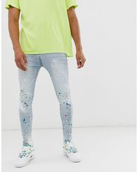 Good For Nothing Skinny Jeans - Blue