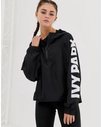 Ivy Park Logo Zip Jacket - Black