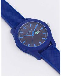 Lacoste Unisex 12.12 Watch - Blue