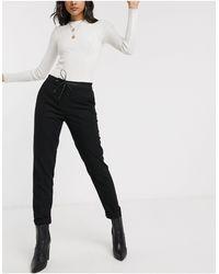 Esprit Tailored joggers - Black