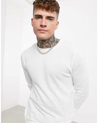 Celio* Crew Neck Knit - White