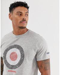 Lambretta Target - T-shirt - Gris