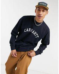Carhartt WIP - Темно-синий Свитшот В Университетском Стиле - Lyst