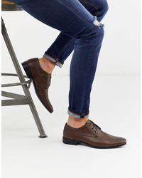 Burton Светло-коричневые Туфли Дерби С Перфорацией -коричневый