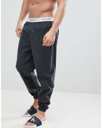Calvin Klein | Modern Cotton Woven Joggers With Cuffed Ankle | Lyst
