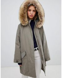 ASOS - Oversized Parka With Padded Liner - Lyst