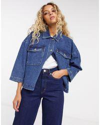 SELECTED Femme Denim Jacket - Blue