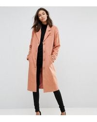 Y.A.S - Button Down Peacoat - Lyst