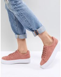 Pieces - Trainer With Chunky Sole - Lyst
