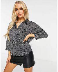 AX Paris Длинная Рубашка В Горошек -многоцветный