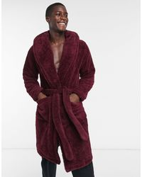 ASOS Lounge Dressing Gown - Red