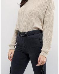 ASOS - Fine Oblong Clean Waist And Hip Jeans Belt - Lyst