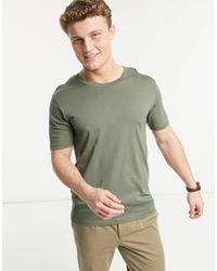 SELECTED Perfect O-neck T-shirt - Green