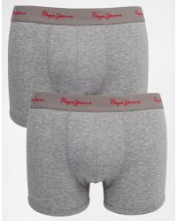 Pepe Jeans - 2 Pack Oliver Boxers - Lyst