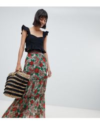 Anna Sui - Exclusive Mexicana Midaxi Skirt - Lyst