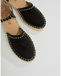 Truffle Collection - Studded Espadrille - Lyst