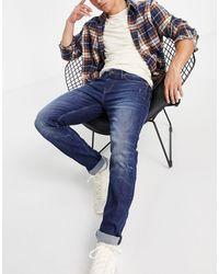 Pepe Jeans Hatch Worn Slim Fit Jeans - Blue