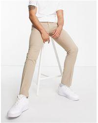 Twisted Tailor Pantalones - Neutro