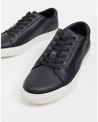 Kenneth Cole Kam Lace Up Sneakers - Black