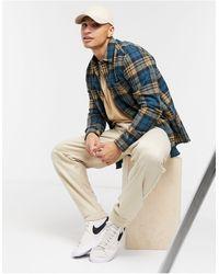 TOPMAN Check Shirt - Green