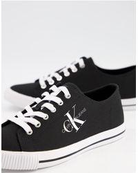 Calvin Klein Черные Кеды Jeans Aurelio-черный Цвет