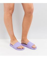 Slydes Lilac Sliders - Purple