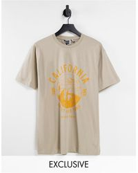 Reclaimed (vintage) Inspired - t-shirt oversize - Multicolore