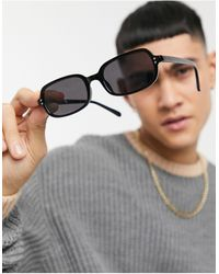 ASOS - Recycled Frame Square Sunglasses - Lyst