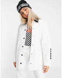 Vans - Белая Куртка Make Me Your Own Drill Chore-белый - Lyst