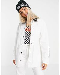 Vans – make me your own drill chore – jacke - Weiß
