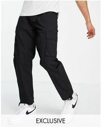 New Look Pantalon cargo - Noir
