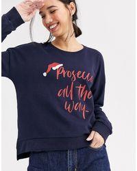 ONLY Prosecco - Kersttrui - Blauw