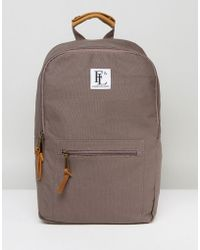 Forbes & Lewis - Suffolk Backpack In Grey - Lyst