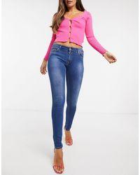 Replay Stella Skinny Jeans - Blue