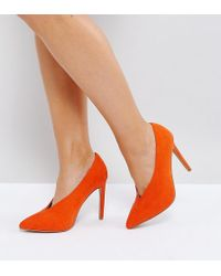 ASOS DESIGN - Asos Priority Wide Fit High Heels - Lyst
