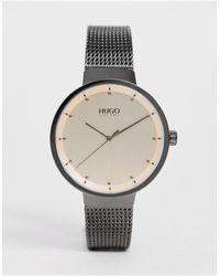 HUGO Часы 1540003 Go - Серый